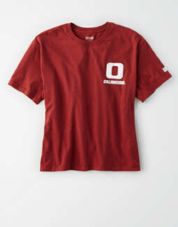 Tailgate Women's Oklahoma Sooners Cropped T-Shirt