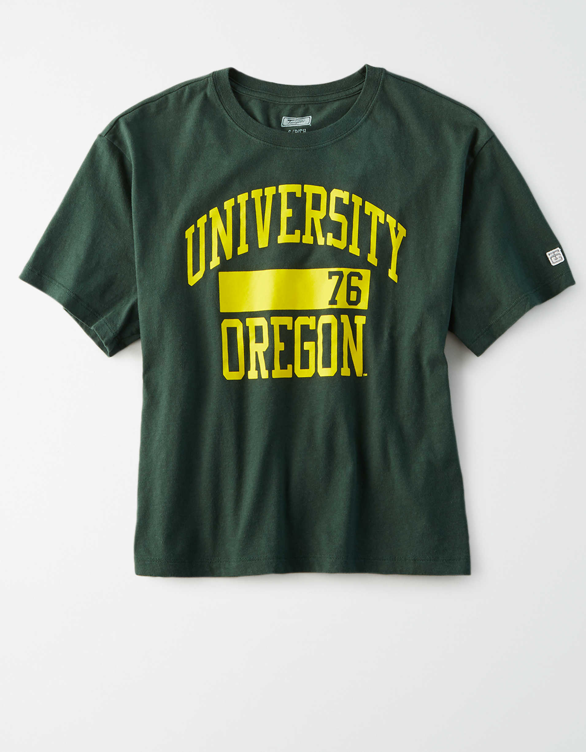 Tailgate Women's Oregon Ducks Cropped T-Shirt