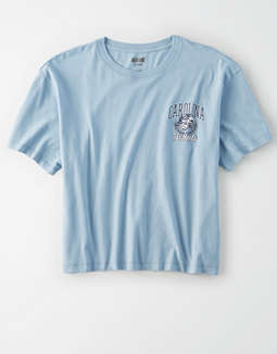 Tailgate Women's UNC Tar Heels Cropped T-Shirt