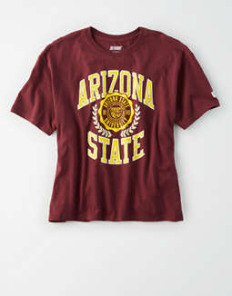 Tailgate Women's Arizona State Cropped T-Shirt