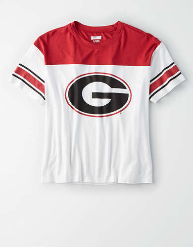 Tailgate Women's Georgia Bulldogs Football T-Shirt