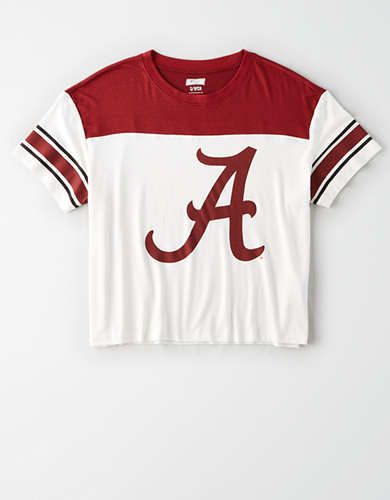 Tailgate Women's Alabama Crimson Tide Football T-Shirt