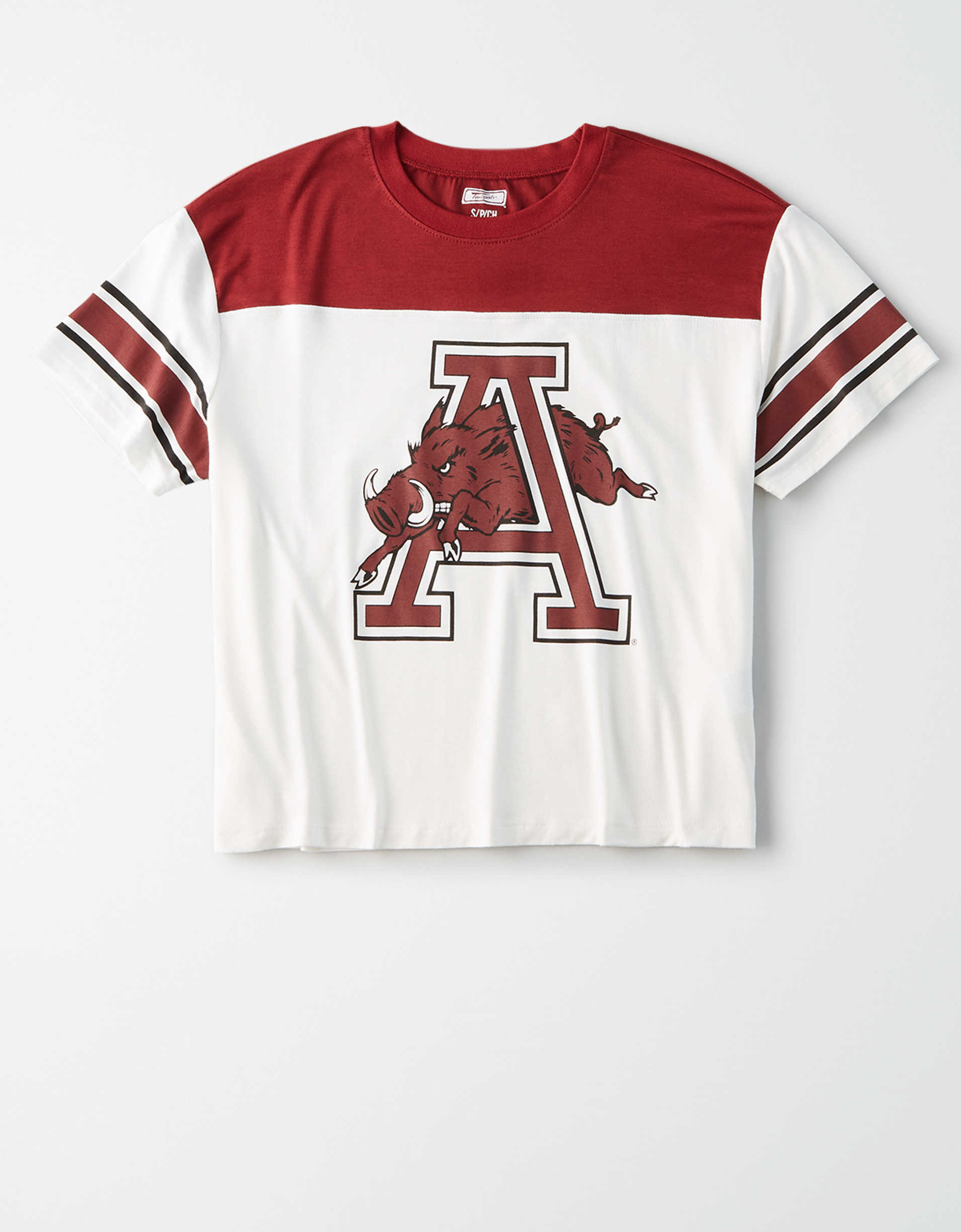 Tailgate Women's Arkansas Razorbacks Football T-Shirt