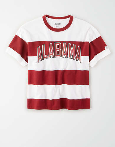 Tailgate Women's Alabama Crimson Tide Striped T-Shirt