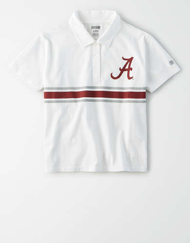 Tailgate Women's Alabama Crimson Tide Cropped Polo
