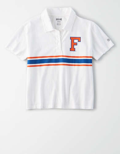 Tailgate Women's Florida Gators Cropped Polo