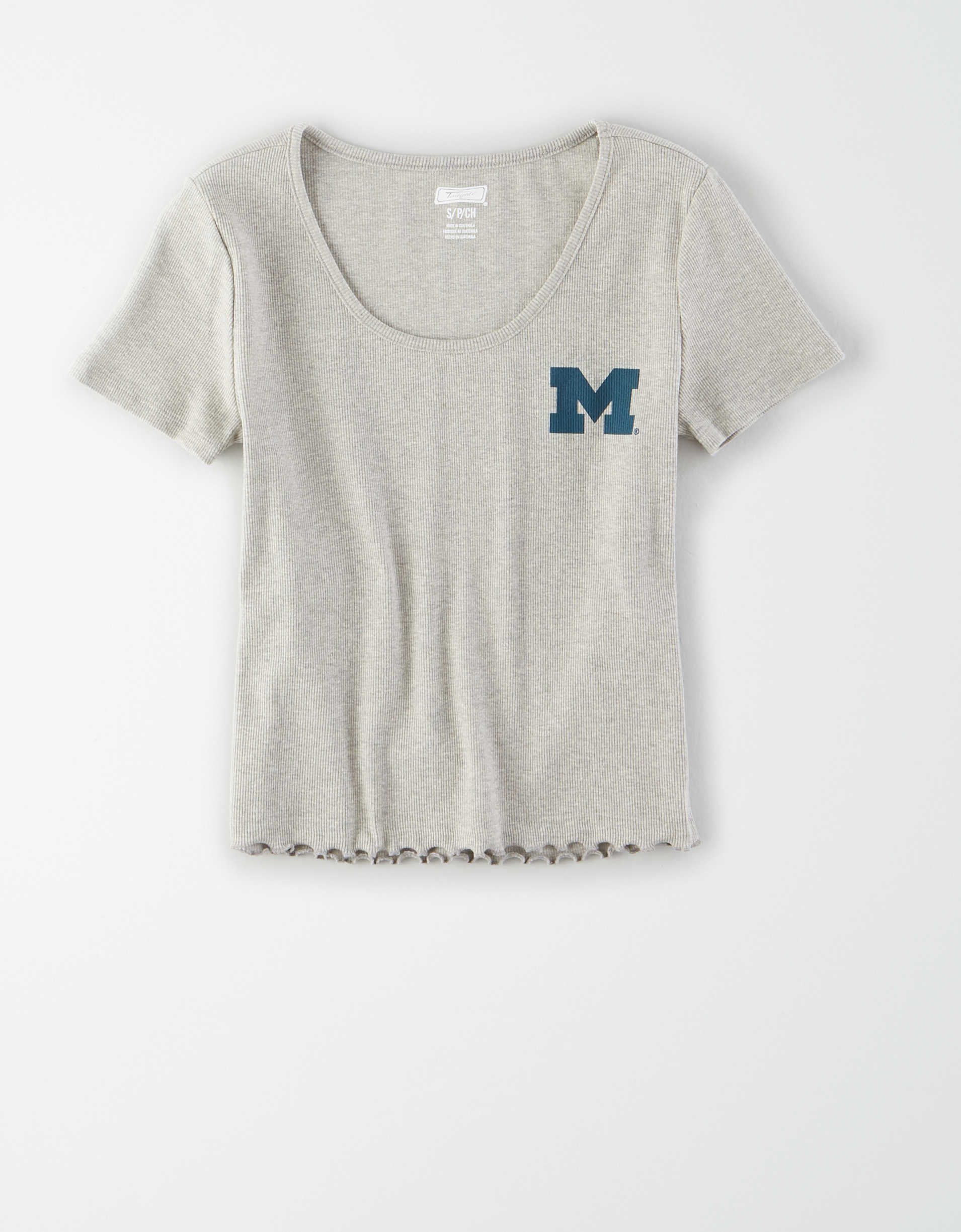 Tailgate Women's Michigan Wolverines Baby T-Shirt