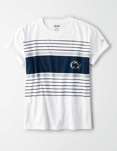 Tailgate Women's Penn State Rolled Sleeve T-Shirt