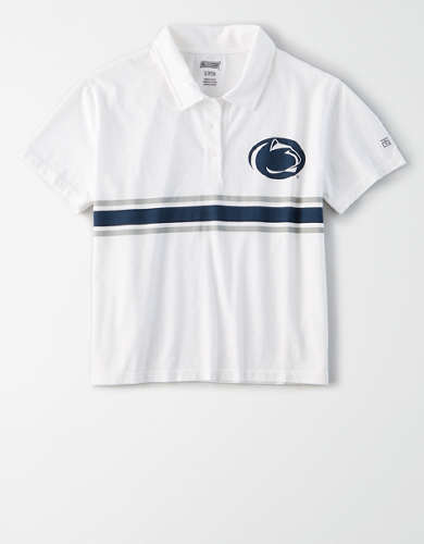 Tailgate Women's PSU Nittany Lions Cropped Polo