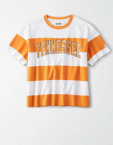 Tailgate Women's Tennessee Volunteers Striped T-Shirt