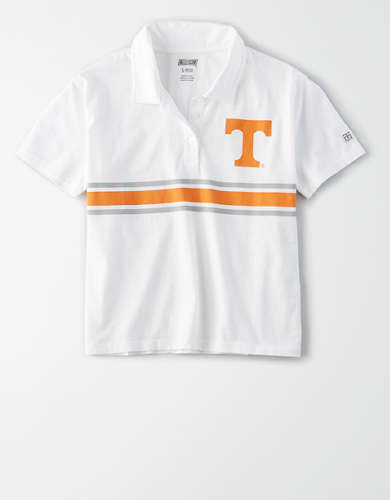 Tailgate Women's Tennessee Volunteers Cropped Polo