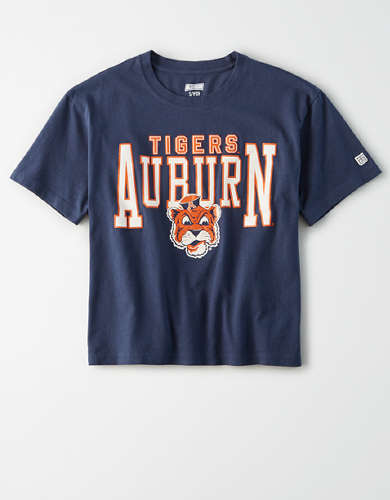 Tailgate Women's Auburn Tigers Cropped T-Shirt