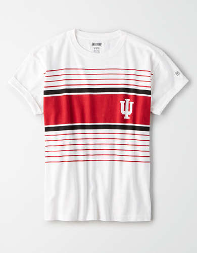 Tailgate Women's Indiana Hoosiers Rolled Sleeve T-Shirt
