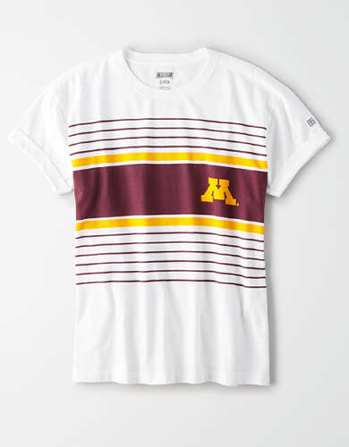Tailgate Women's Minnesota Rolled Sleeve T-Shirt
