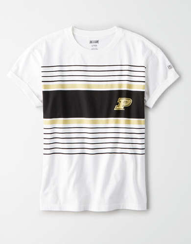 Tailgate Women's Purdue Boilermakers Rolled Sleeve T-Shirt