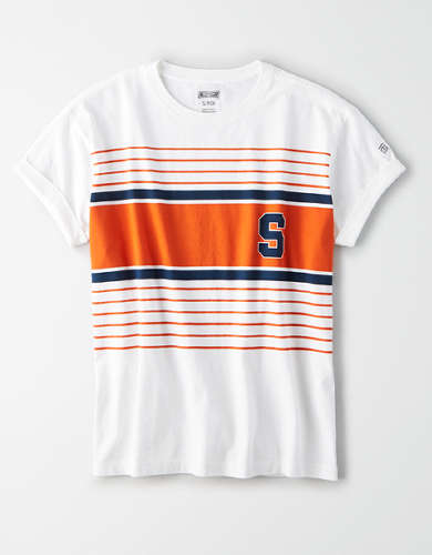 Tailgate Women's Syracuse Orange Rolled Sleeve T-Shirt
