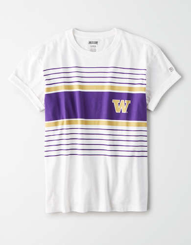 Tailgate Women's Washington Huskies Rolled Sleeve T-Shirt