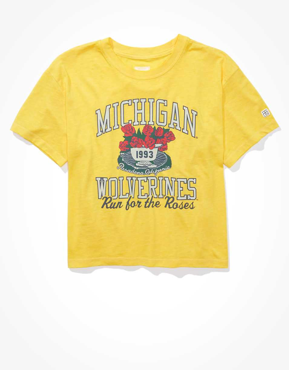 Tailgate Women's Michigan Wolverines Retro T-Shirt