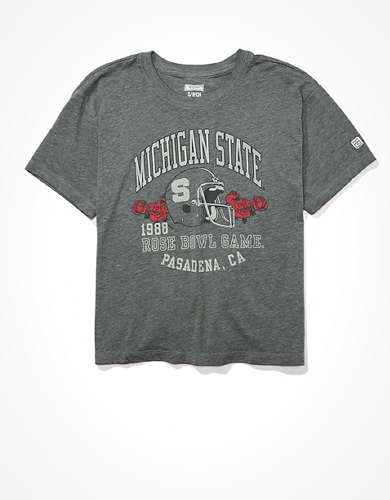 Tailgate Women's Michigan State Spartans Retro T-Shirt