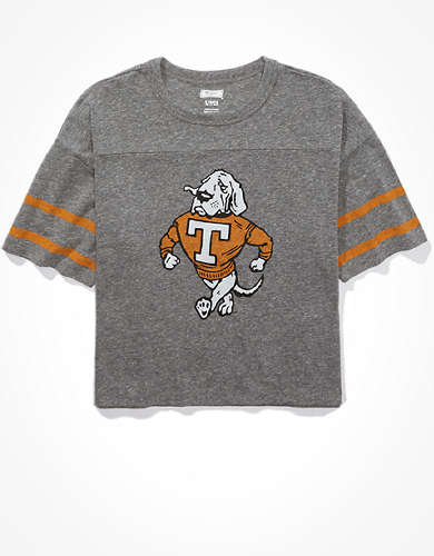 Tailgate Women's Tennessee Volunteers Cropped T-Shirt