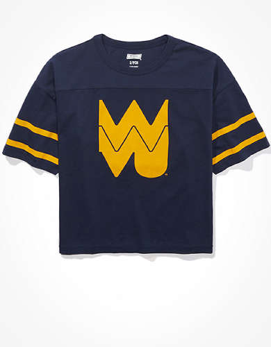 Tailgate Women's WVU Mountaineers Cropped T-Shirt