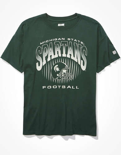 Tailgate Women's Michigan State Oversized T-Shirt