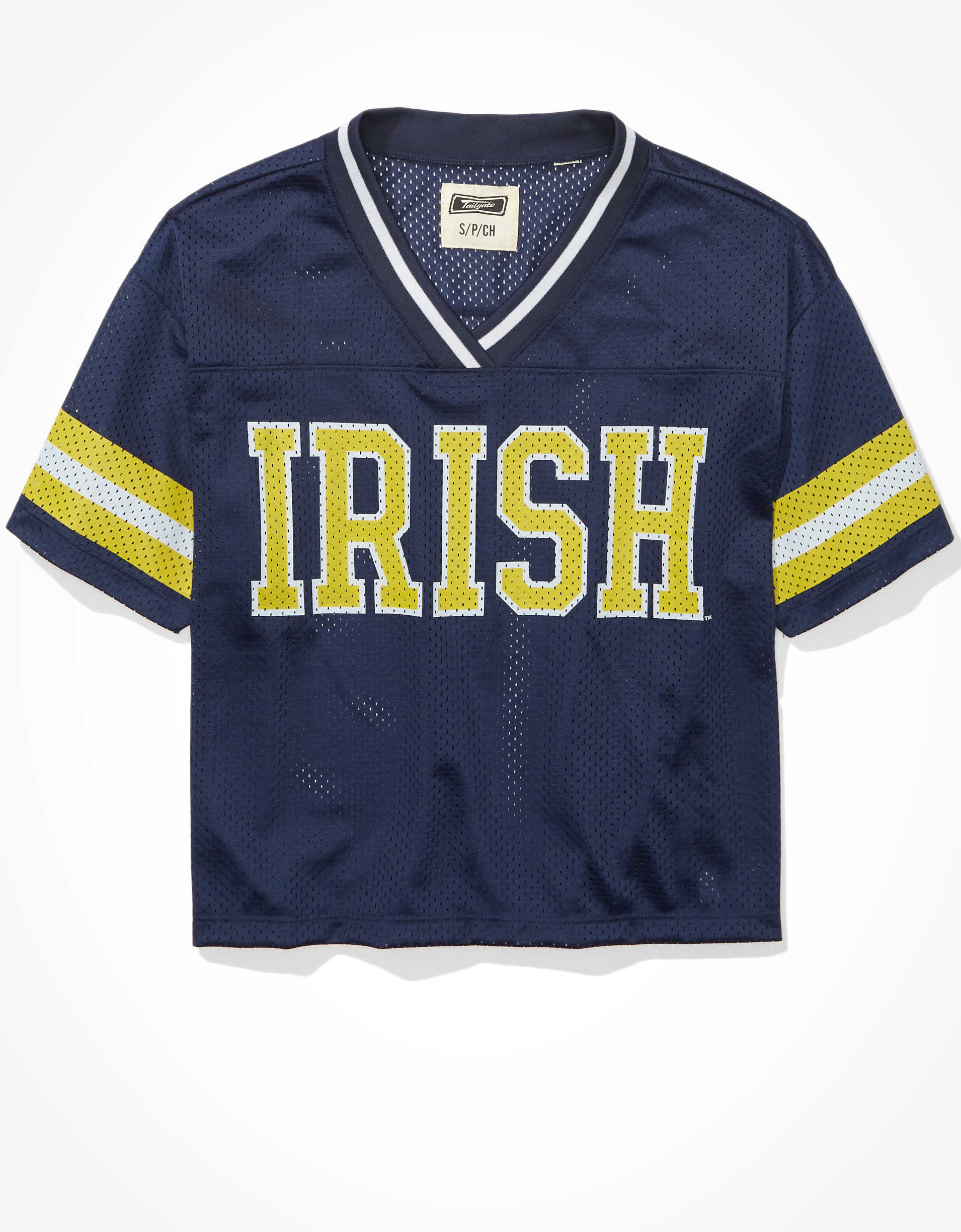 Tailgate Women's Notre Dame Fighting Irish Mesh Jersey