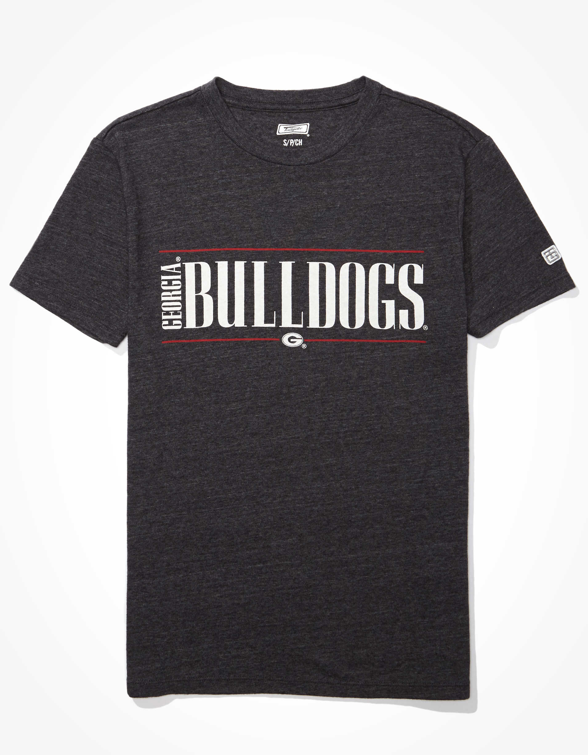 Tailgate Women's Georgia Bulldogs Graphic T-Shirt