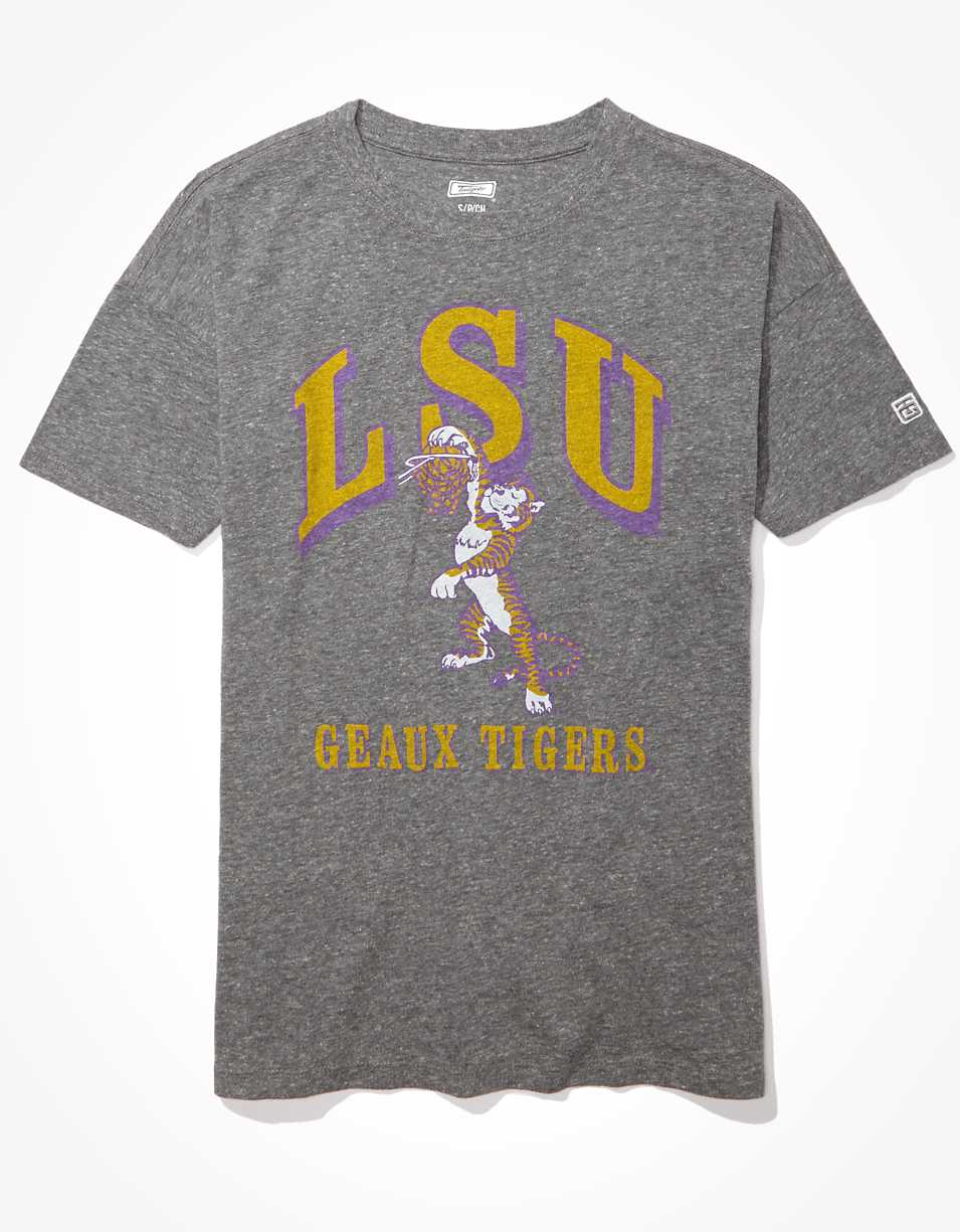 Tailgate Women's LSU Oversized Graphic T-Shirt