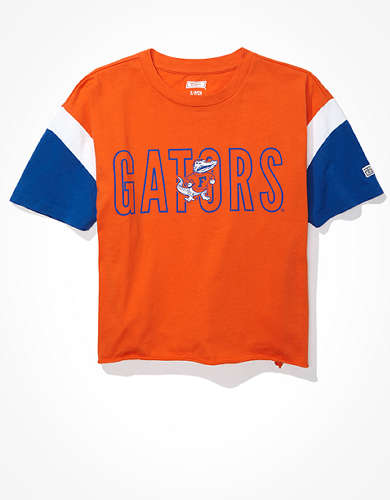 Tailgate Women's Florida Gators Colorblock T-Shirt