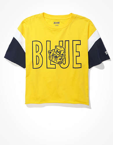 Tailgate Women's Michigan Wolverines Colorblock T-Shirt