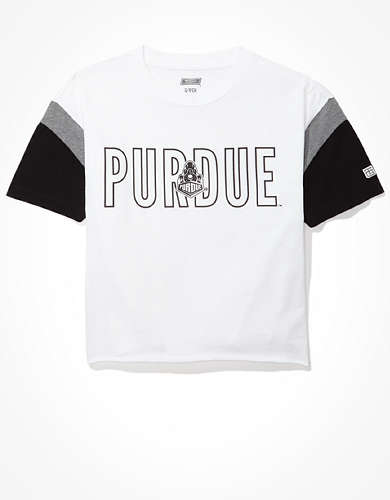 Tailgate Women's Purdue Boilermakers Colorblock T-Shirt