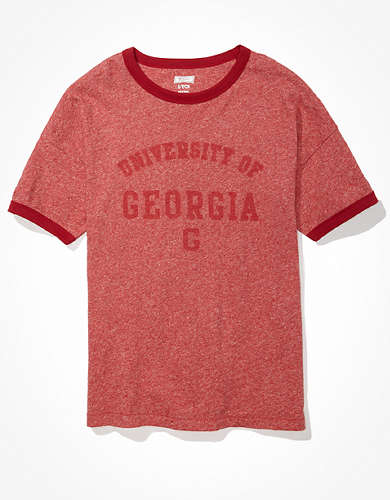 Tailgate Women's Georgia Bulldogs Ringer T-Shirt