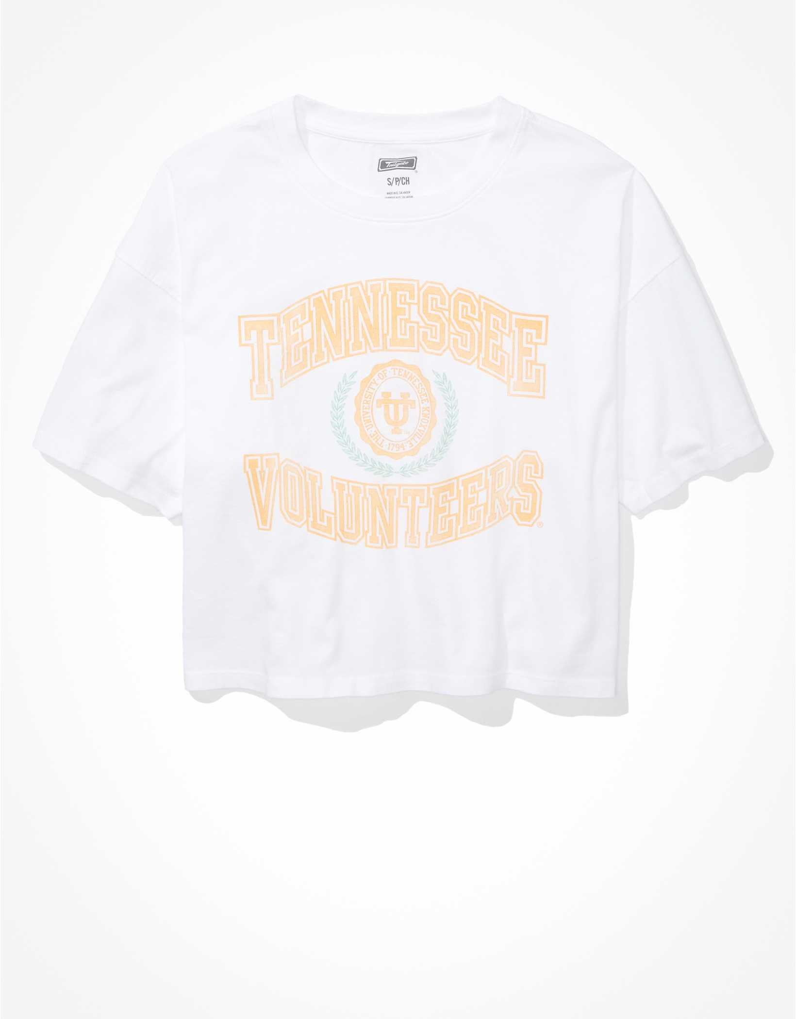 Tailgate Women's Tennessee Vols Cropped Graphic T-Shirt