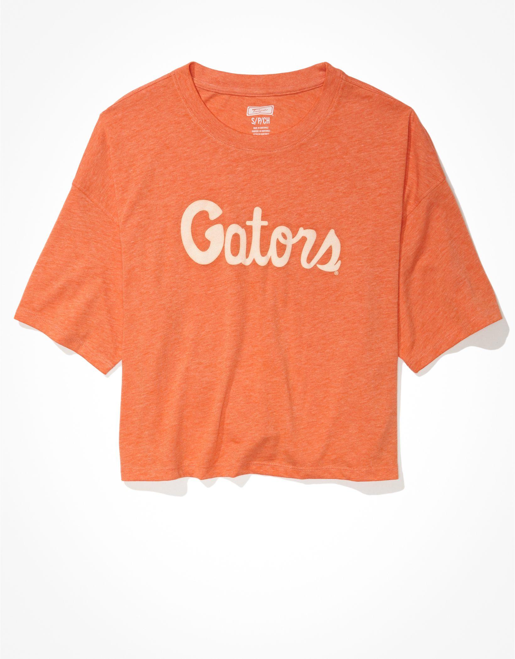 Tailgate Women's Florida Gators Cropped Graphic T-Shirt
