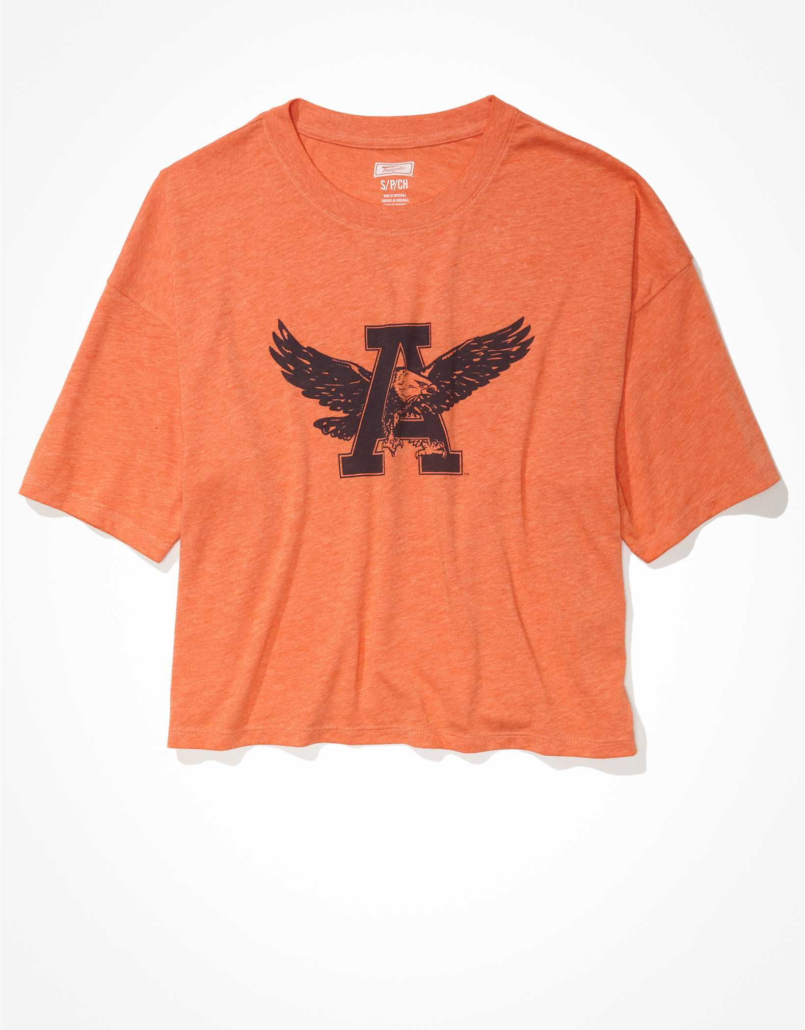 Tailgate Women's Auburn Tigers Cropped Graphic T-Shirt