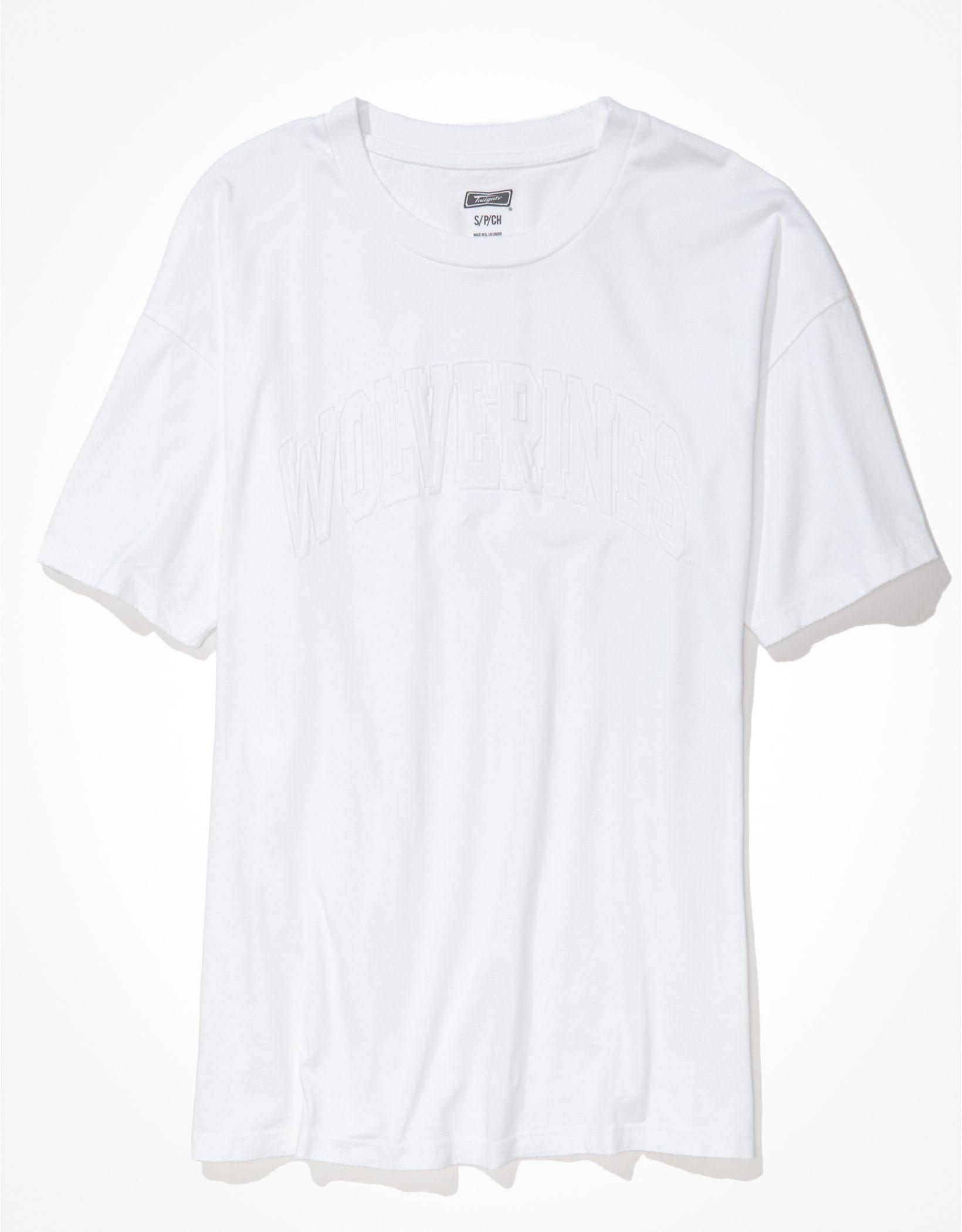 Tailgate Women's Michigan Wolverines Tonal Graphic T-Shirt