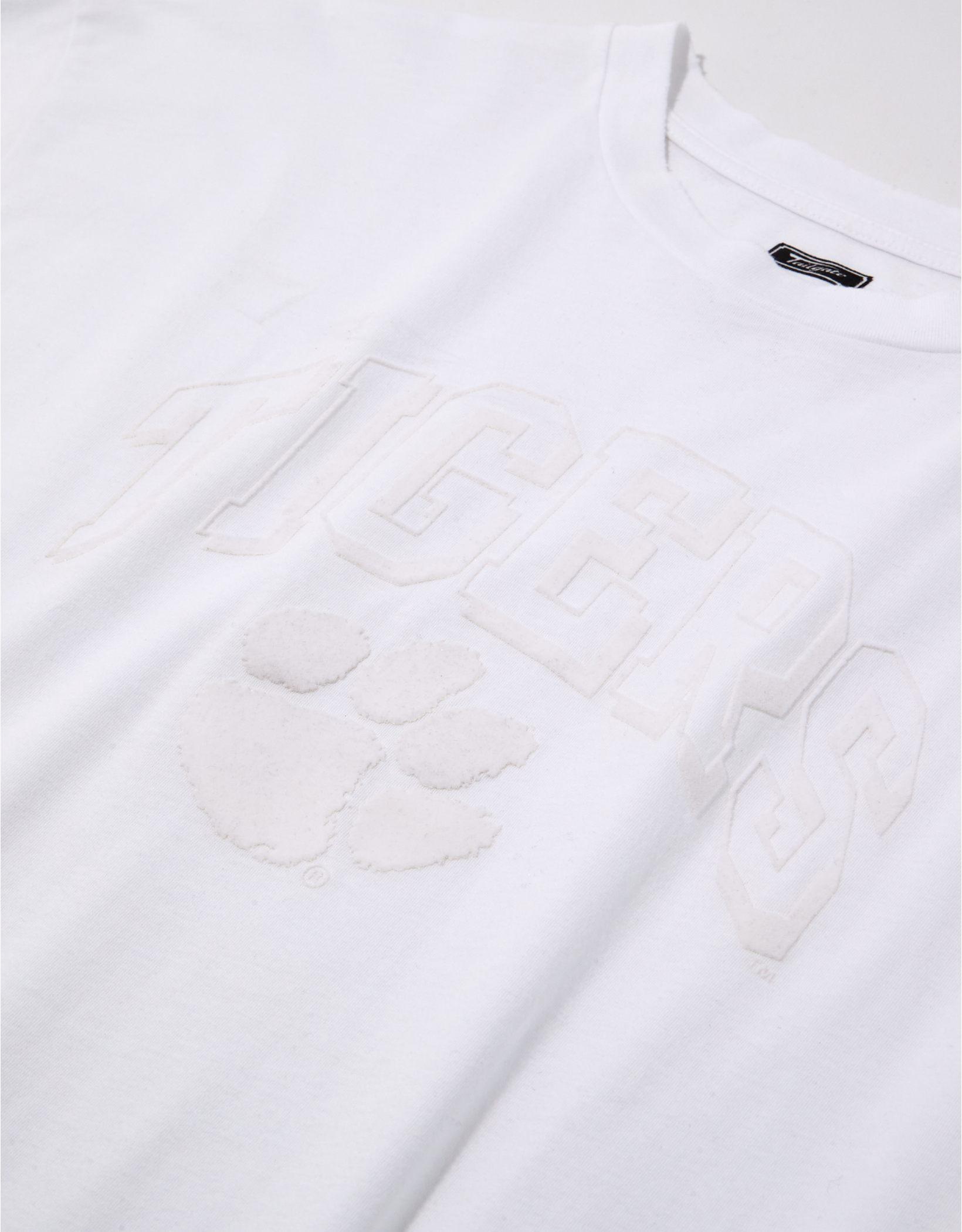 Tailgate Women's Clemson Tigers Tonal Graphic T-Shirt