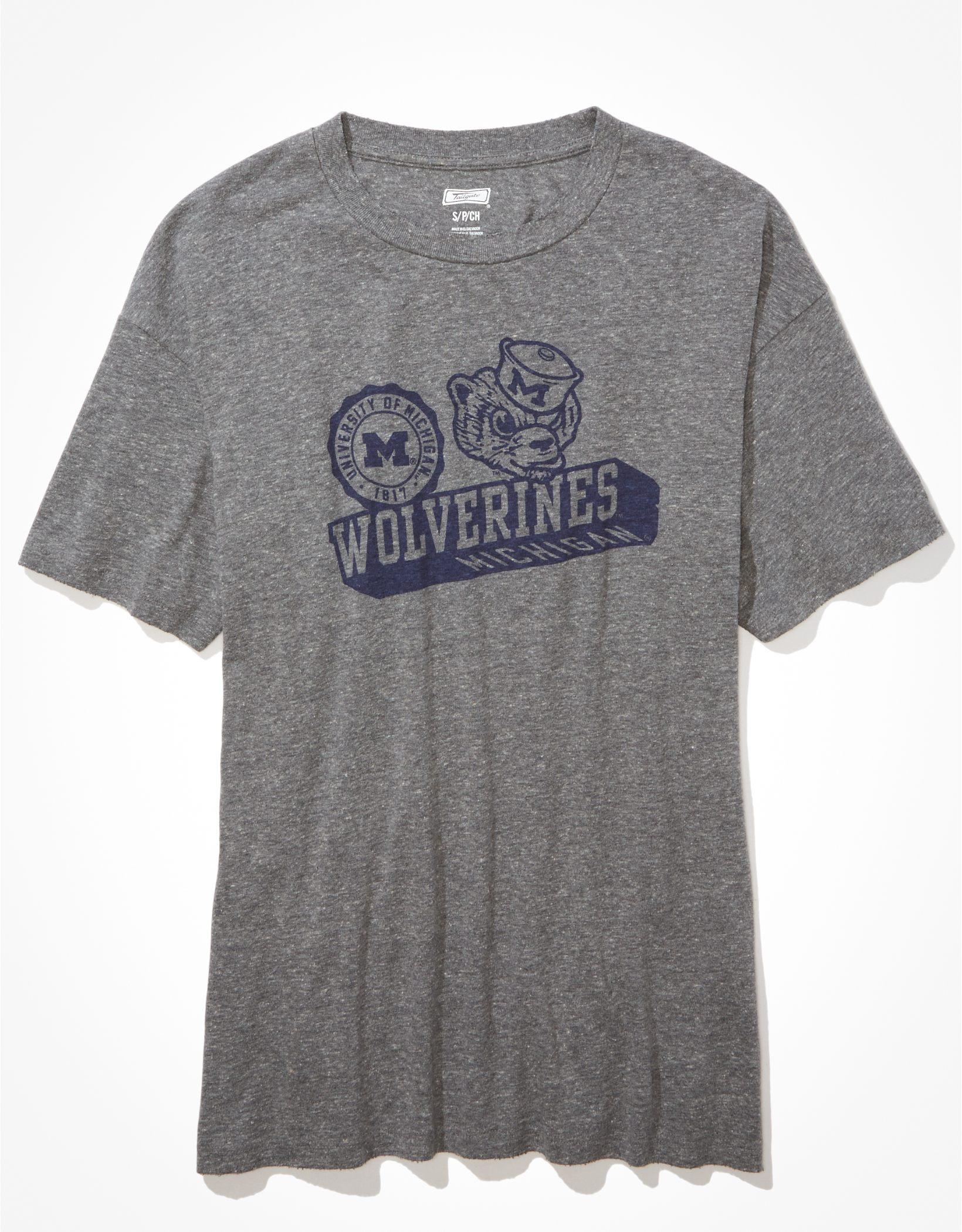 Tailgate Women's Michigan Wolverines Graphic T-Shirt