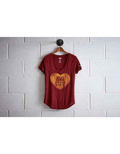 Tailgate Women's Iowa State V-Neck - Free Returns