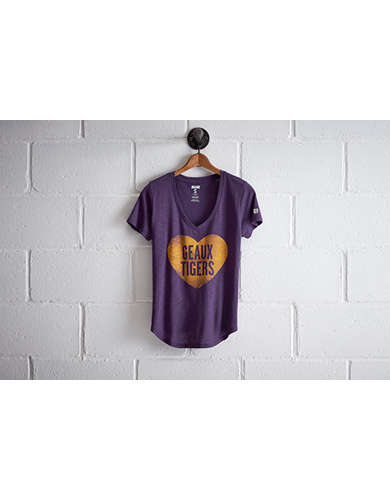Tailgate Women's LSU Tigers V-Neck - Free Returns