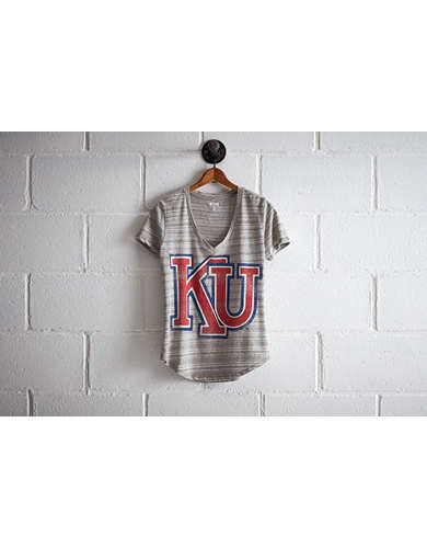 Tailgate Women's Kansas Jayhawks V-Neck - Free Returns