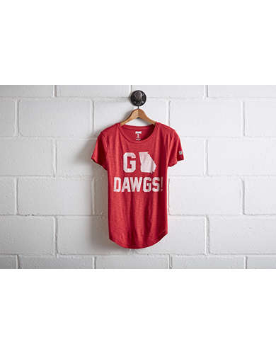 Tailgate Women's Georgia Go Dawgs T-Shirt - Free Returns