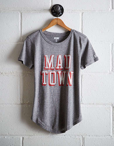 Tailgate Women's Wisconsin Mad Town T-Shirt - Free Returns