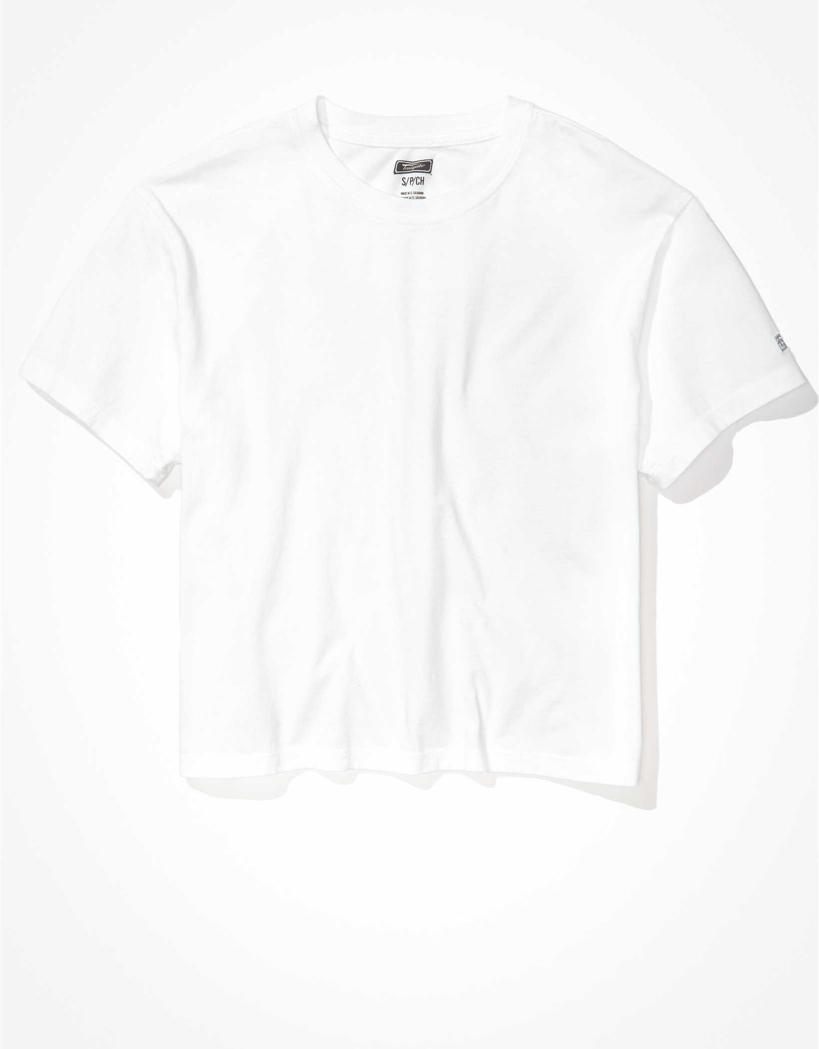 Tailgate Women's Essential Cropped T-Shirt