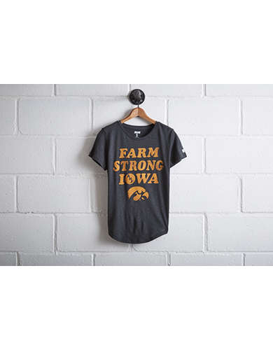 Tailgate Women's Iowa Farm Strong T-Shirt - Free Returns