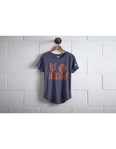 Tailgate Women's University of Illinois T-Shirt - Free Returns