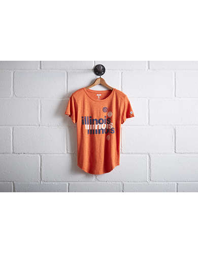 Tailgate Women's University of Illinois Basketball T-Shirt - Free Returns