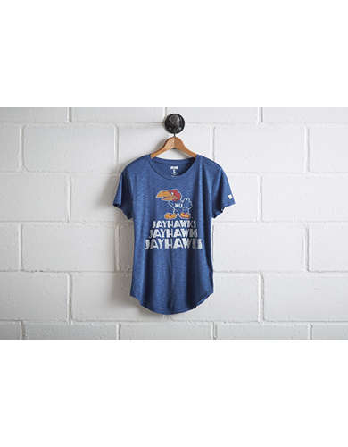 Tailgate Women's Kansas Jayhawks T-Shirt - Free Returns