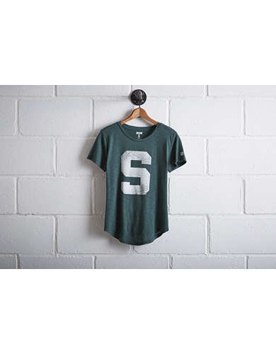 Tailgate Women's Michigan State Big S T-Shirt - Free Returns